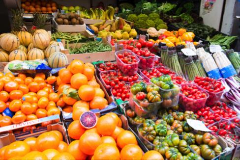 Fruits and Vegetables, risastla, Flickr