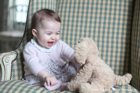 Princess Charlotte, Prince William, Princess Kate