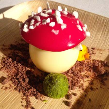 Dessert by Salvatore Martone, Atelier Joel Robuchon, Las Vegas, NV, www.crowdink.com