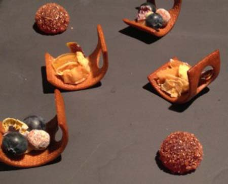 Desserts by William Werner of Craftsman & Wolves, San Francisco, CA, www.crowdink.com