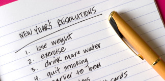 New Year's Resolutions, list of items (Image Source: Tanselali ), crowdink.com, crowdink, crowd ink