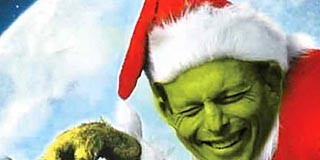 Tony Abbott the Grinch , www.crowdink.com