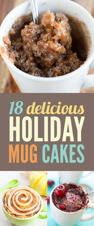 Holiday Mug Cakes, www.crowdnk.com, crowdink, crowd ink