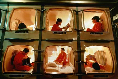 Capsule Hotel, www.crowdink.com