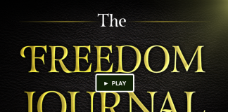 The Freedom Journal- Kickstarter, crowdink.com, crowdink.com.au, crowd ink, crowdink