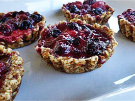 Vegan Berry Tarts, crowdink.com, crowdink.com.au, crowd ink