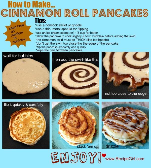 Cinnamon Roll Pancakes, crowdink.com, crowdink.com.au, crowdink, crowd ink, pancakes, sweets, shrove tuesday, pancake tuesday