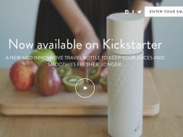 SANS_Air-Bottle, crowdink.com, crowdink.com.au, kickstarter, health, wellbeing, juicer, fresh, healthy, fitness