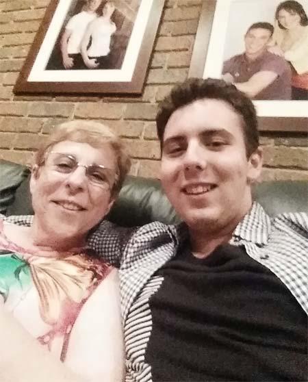 Patrick and Mum