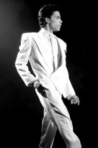 Prince in White [image source: David Corio/Michael Ochs Archives], crowd ink, crowdink, crowdink.com.au, crowdink.com