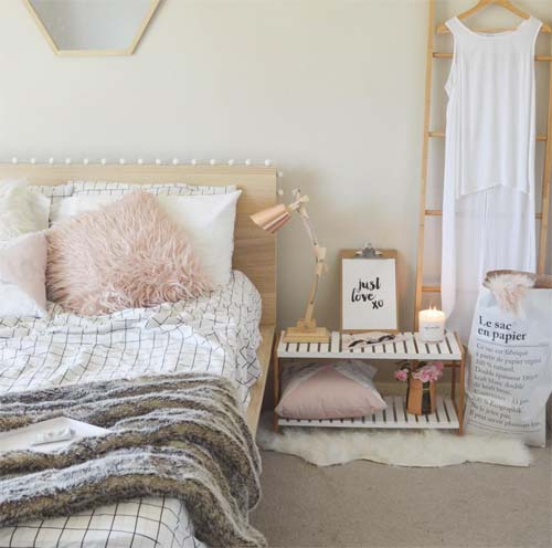5 gorgeous bedrooms brought to you by kmart crowdink for Bedroom ideas kmart