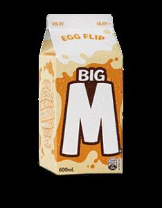 Egg Flip Big M [image source: lionco.com], crowdink, crowd ink, crowdink.com, crowdink.com.au
