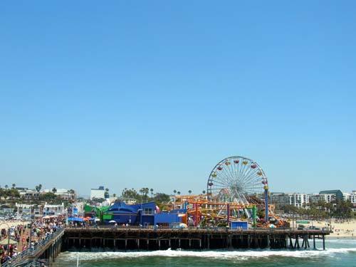 Santa Monica Pier, crowdink, crowd ink, crowdink.com, crowdink.com.au