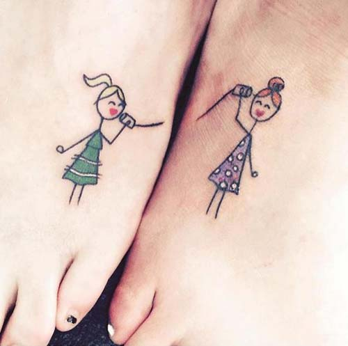 Sisters Tatto [image source: wimp.com], crowdink, crowd ink, crowdink.com, crowdink.com.au