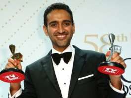 The Project's Waleed Aly poses with the Gold Logie and Silver Logie for Best Presenter ( Photo: Getty Images), crowdink.com, crowdink.com.au, crowdink, crowd ink
