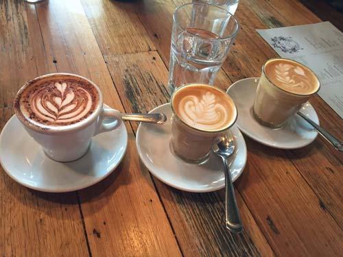 THREE Melb Coffees [image source: Rachel Loo], crowd ink, crowdink, crowdink.com, crowdink.com.au