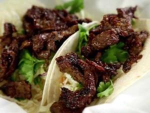 Korean Bulgogi Tacos [image source: Food Network], crowd ink, crowdink, crowdink.com, crowdink.com.au