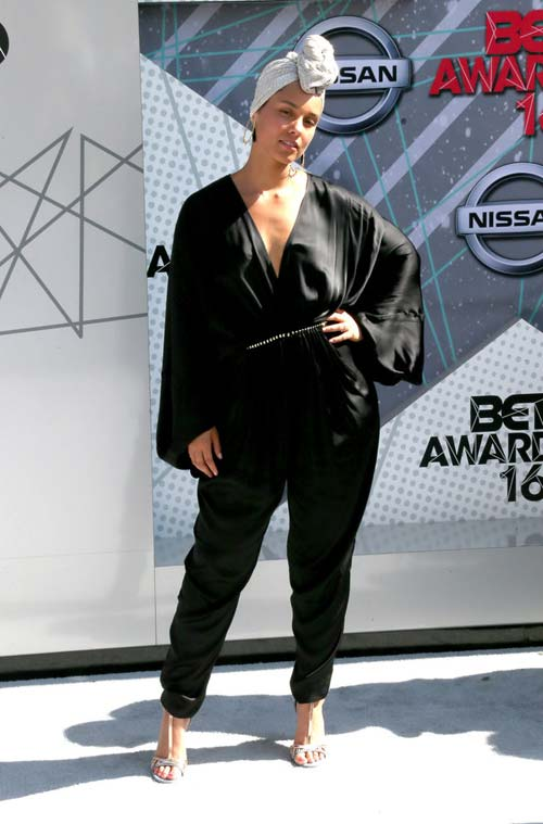 Alicia Keys at the BET Awards [image source: Getty Images], crowd ink, crowdink, crowdink.com, crowdink.com.au