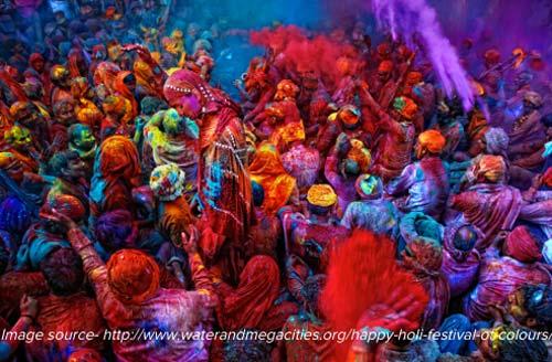 Holi Festival - India, crowd ink, crowdink, crowdink.com, crowdink.com.au