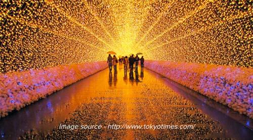 Winter Light Festival - Japan, crowd ink, crowdink, crowdink.com, crowdink.com.au