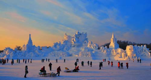 Harbin International Ice and Snow Sculpture Festival - China, crowd ink, crowdink, crowdink.com, crowdink.com.au