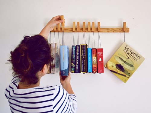 Creative Book Shelves (Image Source: The Green Head), crowdink.com, crowdink.com.au, crowd ink, crowdink, creative, book shelves, books