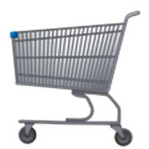Shopping Troller (Image Source: emojipedia.org), crowdink.com, crowdink.com.au, crowd ink, crowdink, emoji