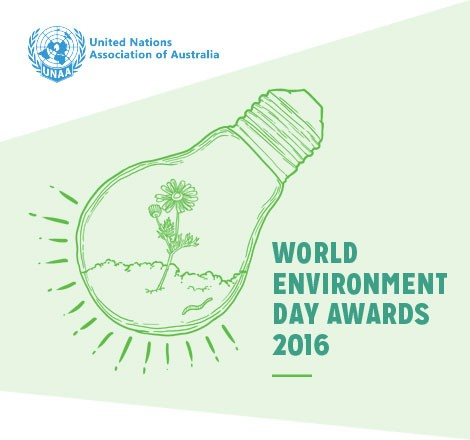 World Environment Day Awards 2016 [image source: UNAA Victoria], crowdink, crowd ink, crowdink.com, crowdink.com.au