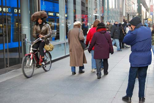 Bill Cunningham in the field [image source: Transit Web], crowd ink, crowdink, crowdink.com, crowdink.com.au