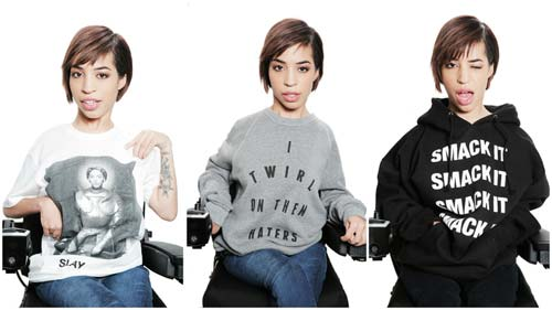 Model Jillian Mercado [image source: revelist.com], crowd ink, crowdink, crowdink.com, crowdink.com.au