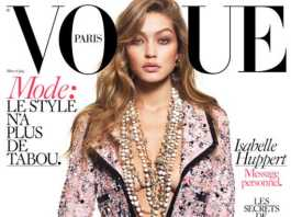 Gigi Hadid for Vogue, crowd ink, crowdink, crowdink.com, crowdink.com.au