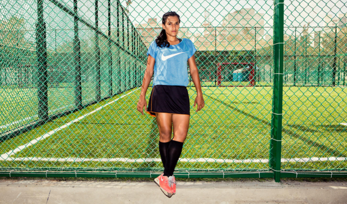 Hockey Player, Rani Rampal [image source: Aman Makkar], crowd ink, crowdink, crowdink.com, crowdink.com.au