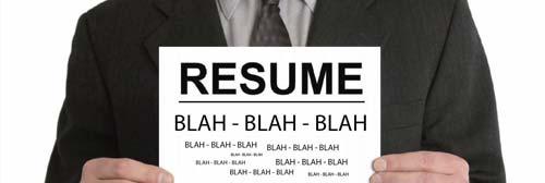 Resume Blah Blah Blah [image source: wispapp.com], crowd ink, crowdink, crowdink.com, crowdink.com.au