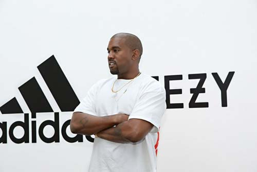 Kanye West Partners with Adidas [image source: Jonathan Leibson], crowd ink, crowdink, crowdink.com, crowdink.com.au