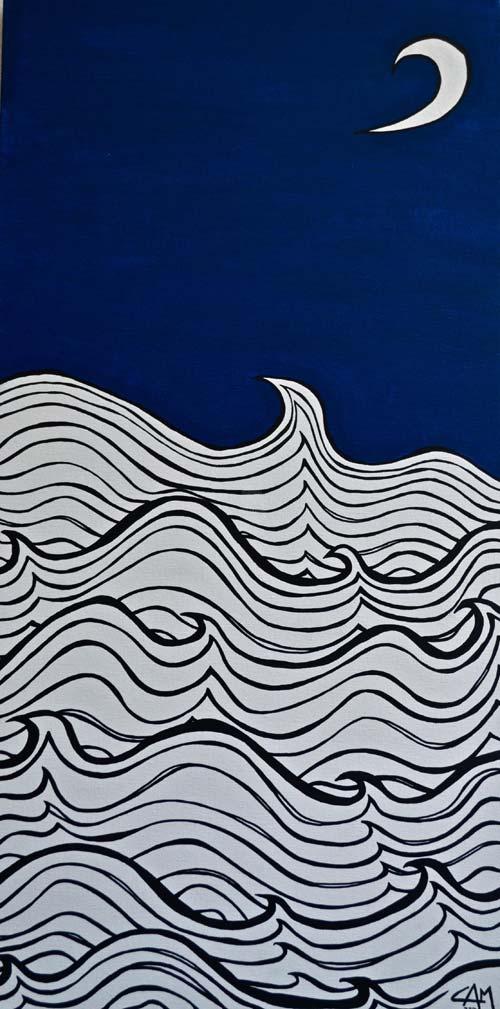 Night Seas by Carmel McGrath, crowd ink, crowdink, crowdink.com, crowdink.com.au