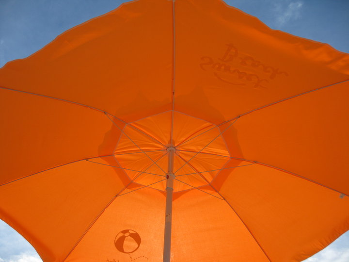 Umbrellas at Sunset Beach [image source: sunset beach hotel], crowd ink, crowdink, crowdink.com, crowdink.com.au