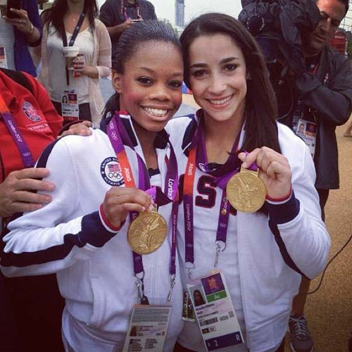 Ally Raisman and Gabby Douglas [image source: jumptwist.com], crowd ink, crowdink, crowdink.com, crowdink.com.au