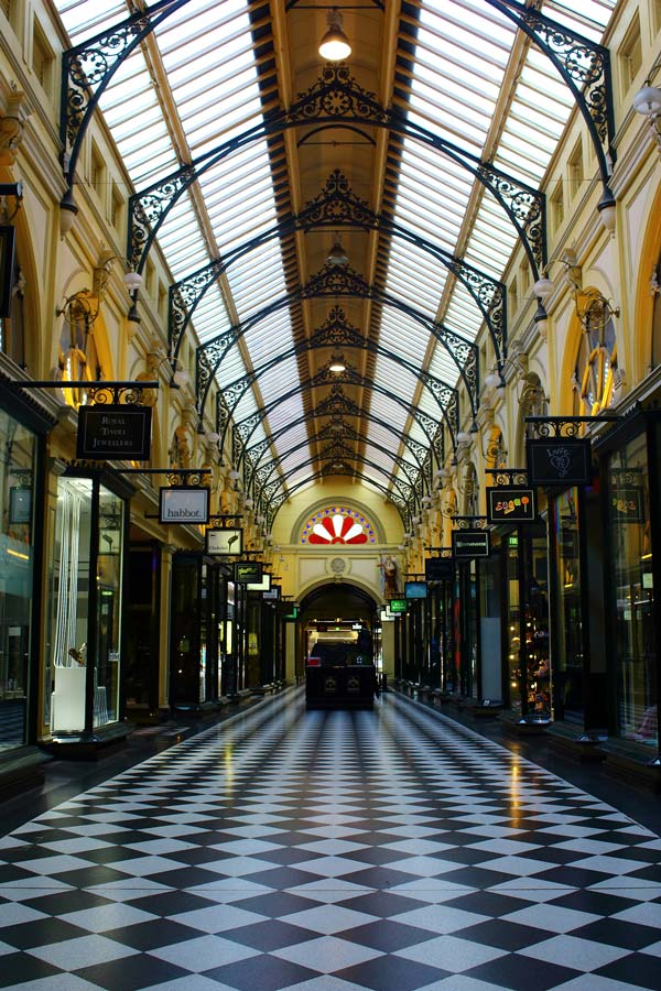Royal Arcade Photo, Metallic Print Photograph by Genevieve Engelhardt, crowd ink, crowdink, crowdink.com, crowdink.com.au