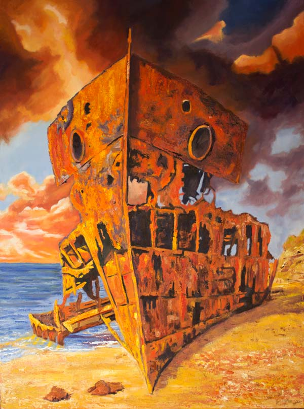 HMQS Gayundah - The Final Berth by Gayle Reichelt, crowd ink, crowdink, crowdink.com, crowdink.com.au