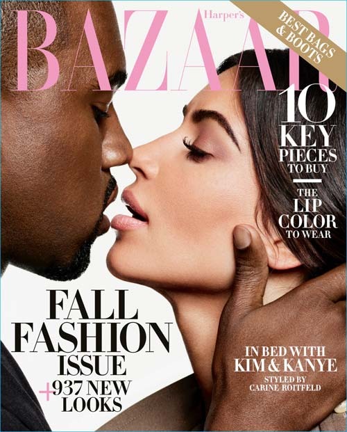 Harper's Bazaar - September Issue 2016 (Kim Kardashian & Kanye West), crowd ink, crowdink, crowdink.com, crowdink.com.au