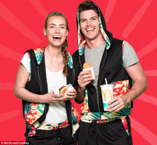 McDonalds New Activewear Line [image source: dailymail.co.uk], crowd ink, crowdink.com, crowdink, crowdink.com.au