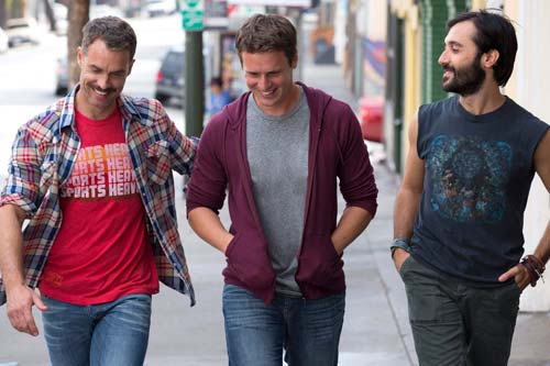 The Boys of Looking [image source: indiewire.com], crowd ink, crowdink, crowdink.com, crowdink.com.au
