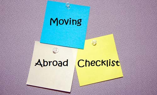 Moving Abroad Checklist [image source: womanseeksworld.com], crowd ink, crowdink, crowdink.com, crowdink.com.au