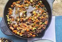 Black Beans, Veggies, and Rice, crowd ink, crowdink, crowdink.com, crowdink.com.au