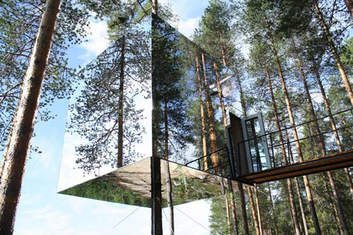 Treehotel Sweden [image source: architectull.com], crowd ink, crowdink, crowdink.com, crowdink.com.au