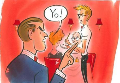 Yo, Waiter! [image source: davesblogcentral.com], crowd ink, crowdink, crowdink.com, crowdink.com.au