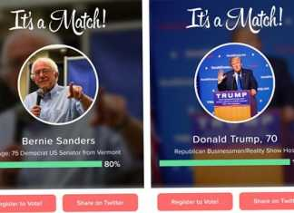 Donald Trump on Tinder [image source: telegraph.co.uk], crowdink, crowd ink, crowdink.com, crowdink.com.au