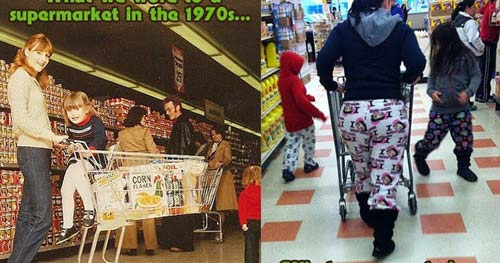 Grocery Store Fashion [image source: goretro.com], crowd ink, crowdink, crowdink.com, crowdink.com.au