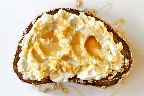 Honey and Ricotta Toast [image source: saveur.com], crowd ink, crowdink, crowdink.com, crowdink.com.au