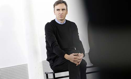 Raf Simons [image source: New York Times], crowd ink, crowdink, crowdink.com, crowdink.com.au
